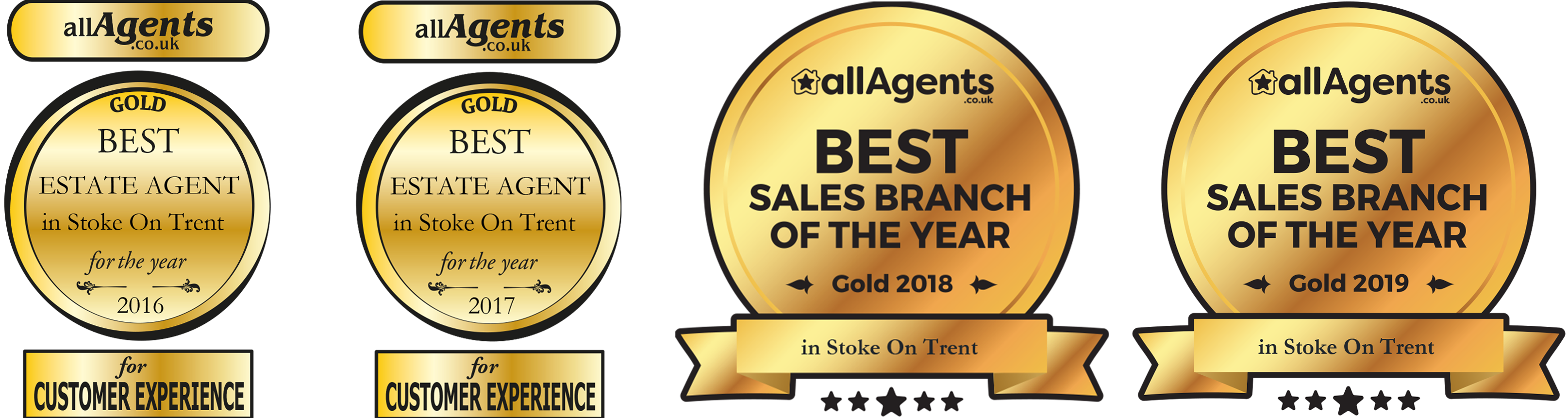 All Agents Gold Stoke 20152018